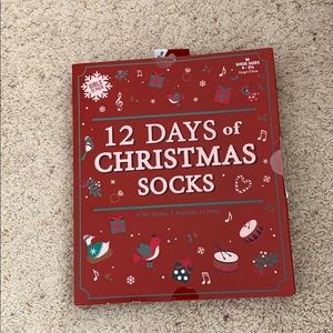 Other - NWT 12 Days is Christmas socks